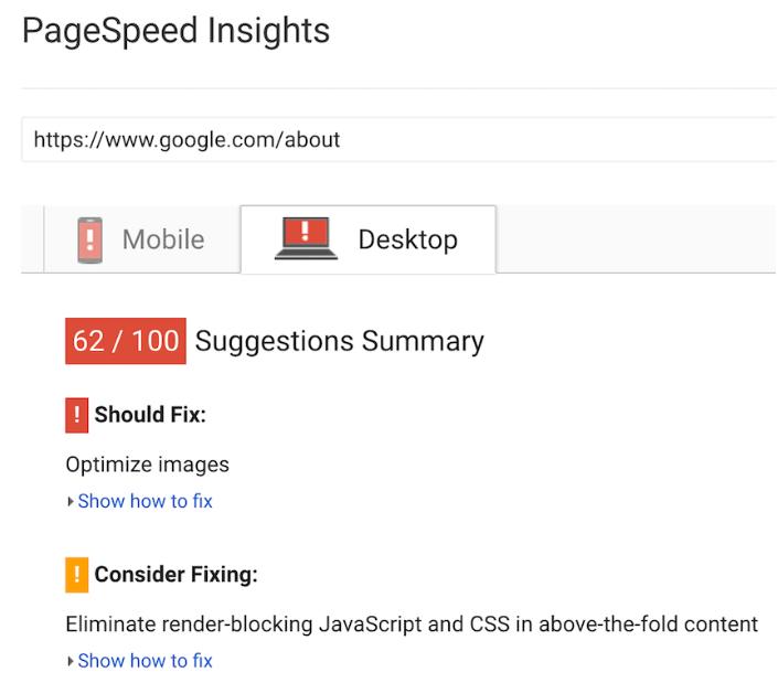 SEO-KPI Google About