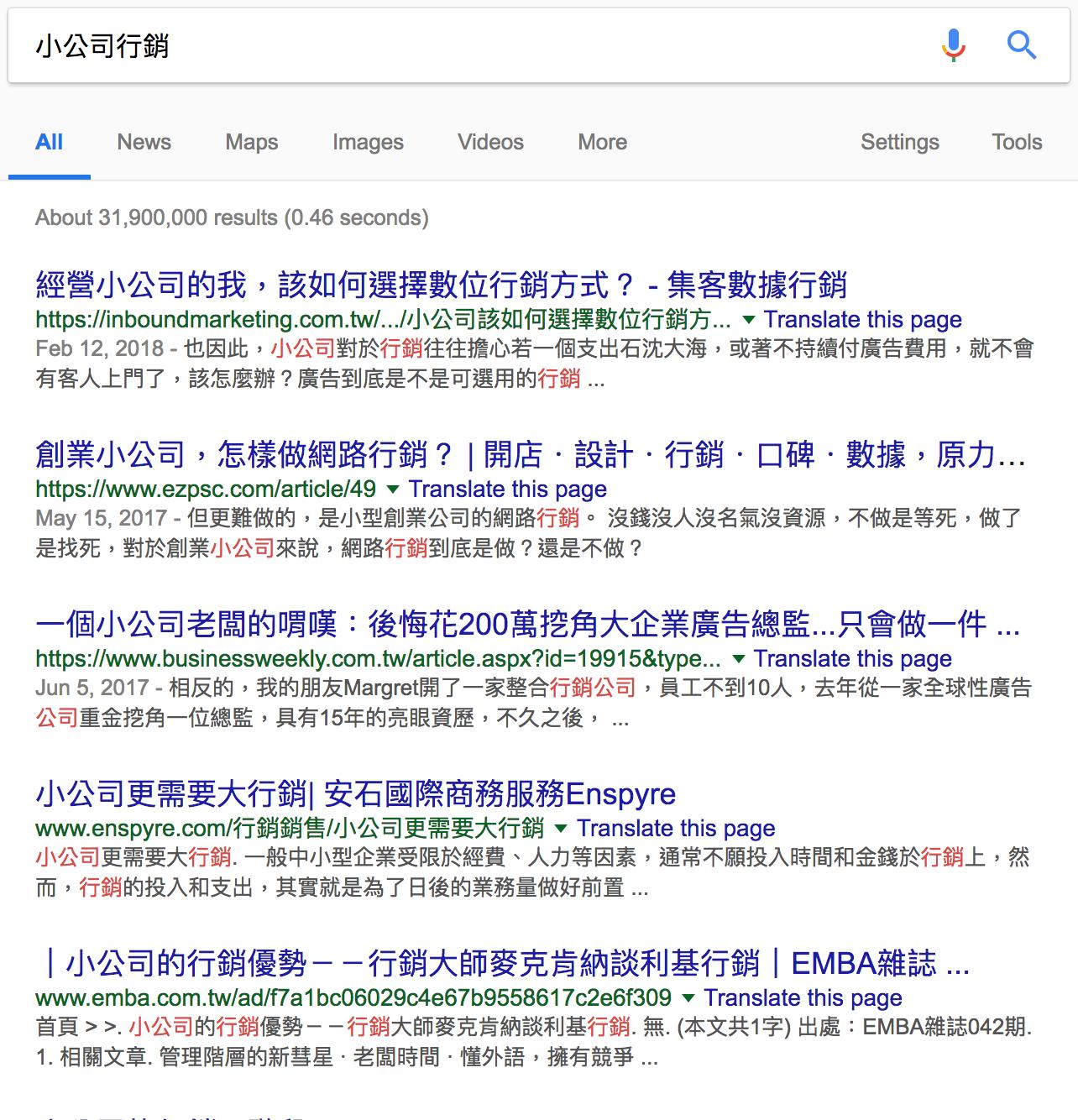 seo-品牌行銷的幫助-小公司行銷