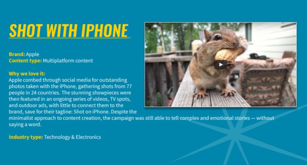 內容行銷策略-Apple
