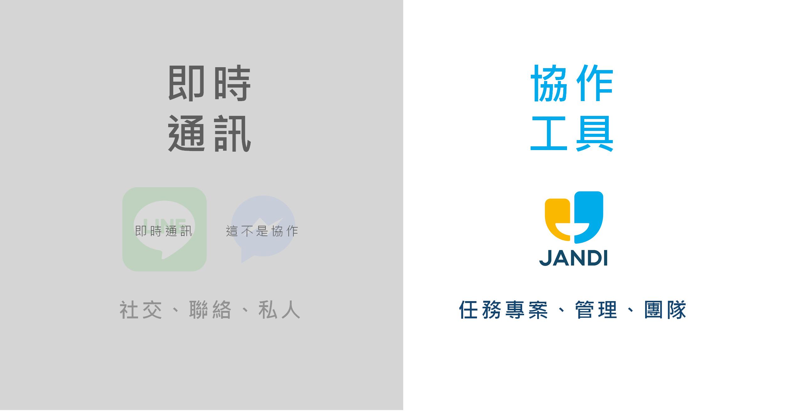 內容行銷案例 _JANDI 定位