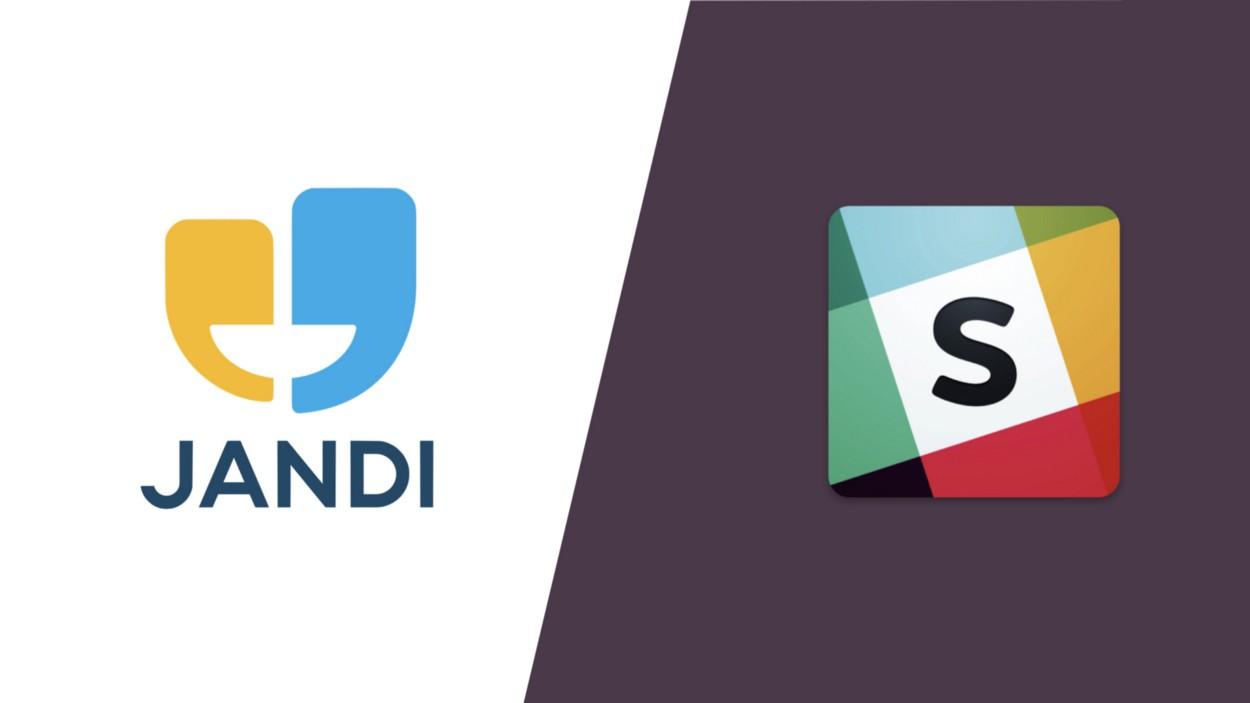 內容行銷案例 _JANDI 與 slack 的差異