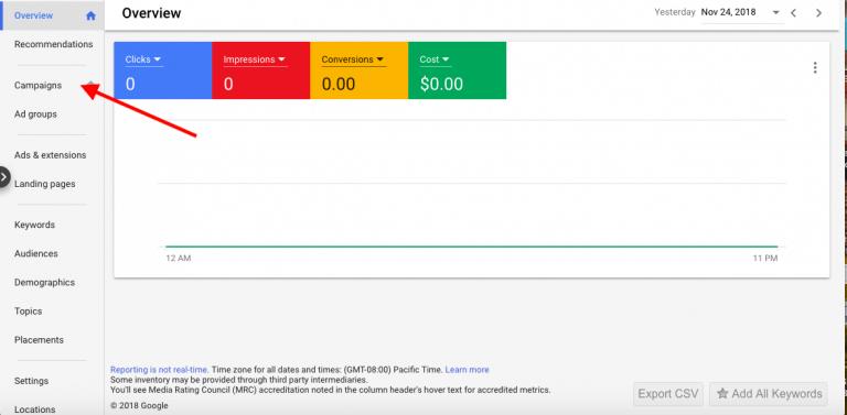 Google 關鍵字廣告設定步驟
